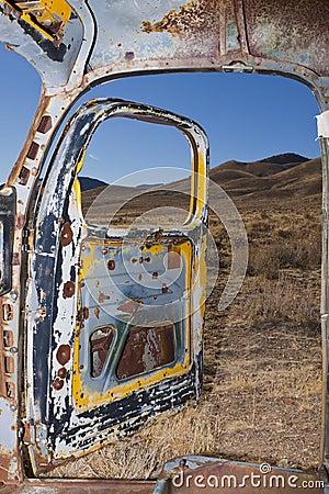Desert Truck Interior