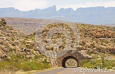 Desert tunnel