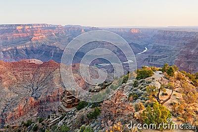 Desert View at Sunrise
