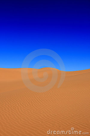 Free Desert With A Blue Sky Stock Image - 16542501