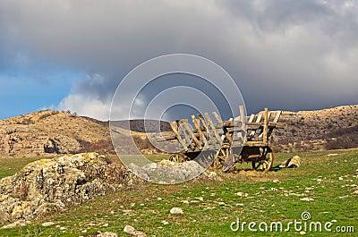 Deserted cart