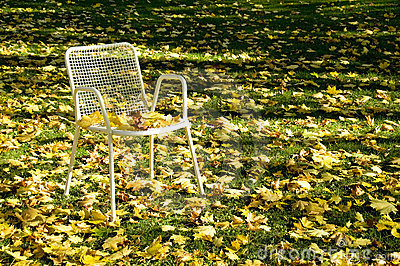 Deserted chair