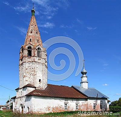Deserted church