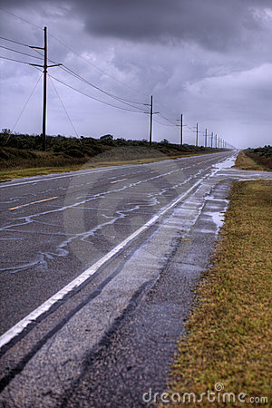 Free Deserted Road Stock Images - 6793874