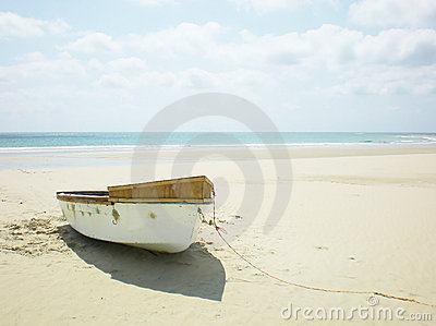 Deserted rowing Boat