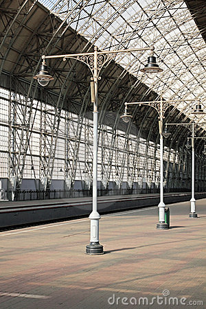 Deserted Station Stock Image - Image: 16694441