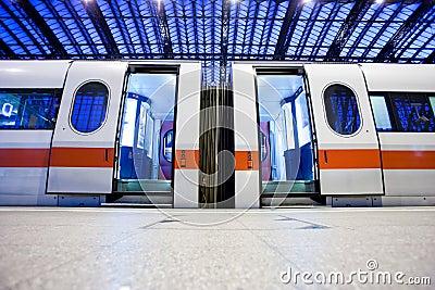 Deserted train