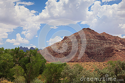 Desertic Landscape Of Utah In The USA Royalty Free Stock Image - Image: 25879946