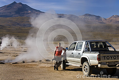 Deserto de Atacama - o Chile Imagem Editorial