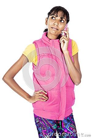 Desi girl calling