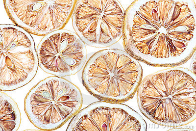 Desiccated  citrus slice