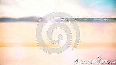 Desierto del día de Sun metrajes