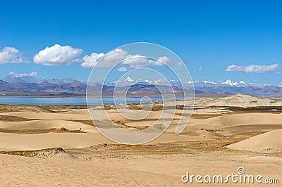 Desierto en Tíbet