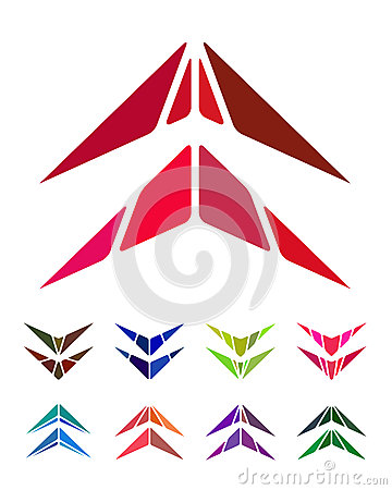 Free Design Arrow Logo Element Stock Image - 30587951