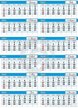 Design Calendar 2010