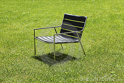 Design chair isolated