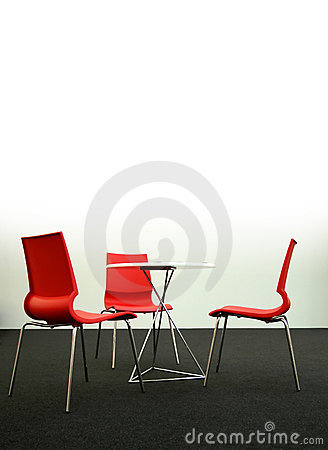 Free Design Chairs And Table, Vertical Stock Images - 1994364