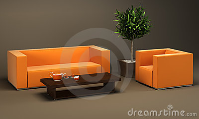 Design Of The Dining Room Stock Photography - Image: 7230852