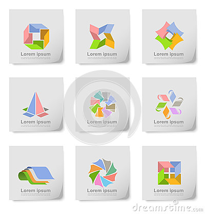 Free Design Element Post Its Stock Image - 39854011