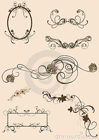 Free Design Elements Royalty Free Stock Photography - 4627607