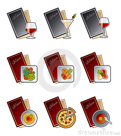 Free Design Elements 47c. Menu Icons Set Royalty Free Stock Photos - 1461788
