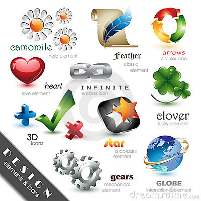 Free Design Elements And Icons Stock Images - 11541984