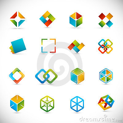 Free Design Elements - Cubes Stock Image - 18710341