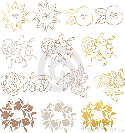 Design elements flower
