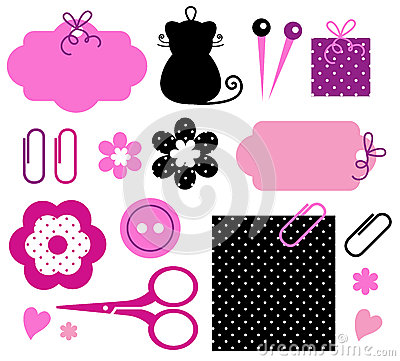 Free Design Elements For Handmade Fashion Stock Images - 25152444