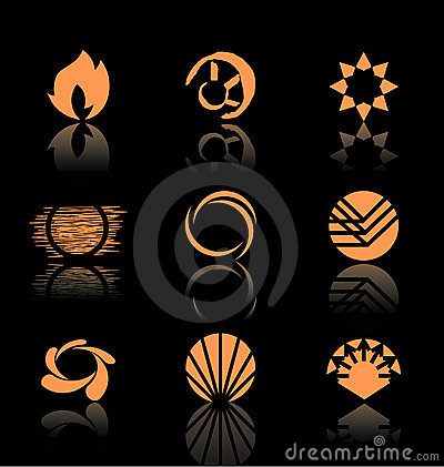 Free Design Elements - Icon Set (3) Royalty Free Stock Photography - 2867397