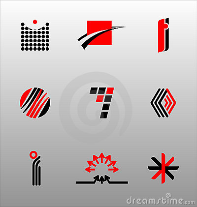 Free Design Elements - Icon Set (4) Royalty Free Stock Photography - 2867377