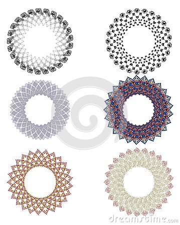 Design elements rosettes