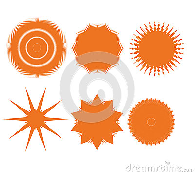 Design elements set. Abstract icons