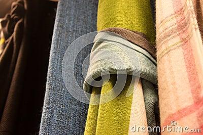 Design fabric loop