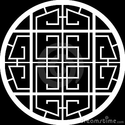 Design of a grid circle window