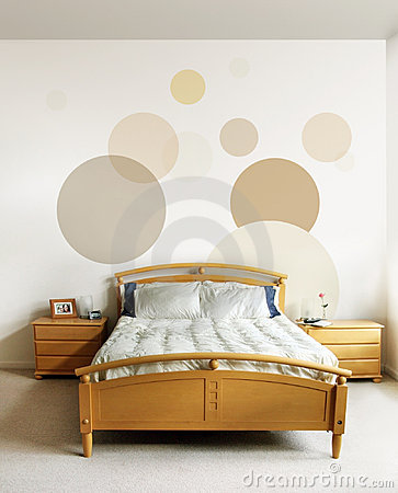 Free Design In Modern Bedroom Royalty Free Stock Image - 1959266