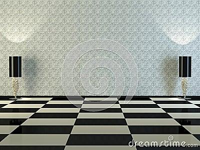 Design interior of elegance classic room