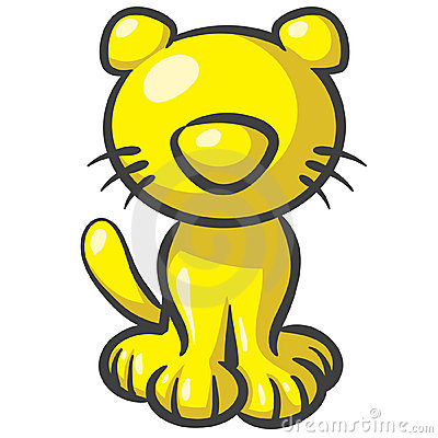 Design Mascot Kitty Cat