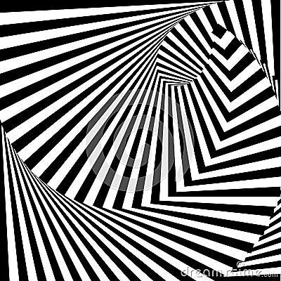 Free Design Monochrome Vortex Illusion Background Royalty Free Stock Image - 39087196