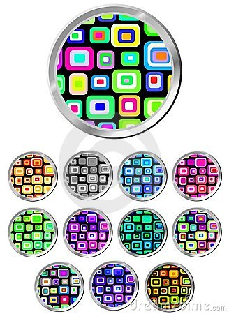 Design Pattern Button Set