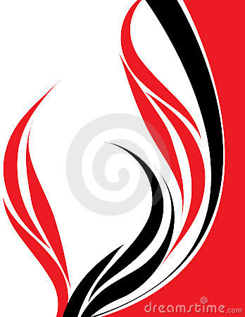 Design In Red And Black Stock Photos Image 11347533