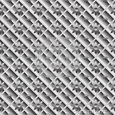 Design seamless metallic diagonal pattern