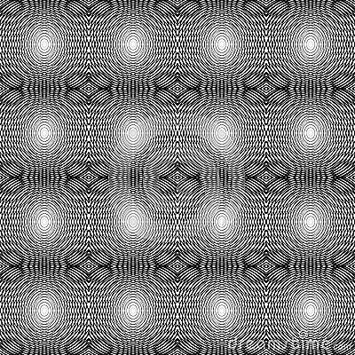 Design seamless monochrome horizontal lines patter