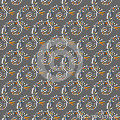 Design seamless spiral pattern