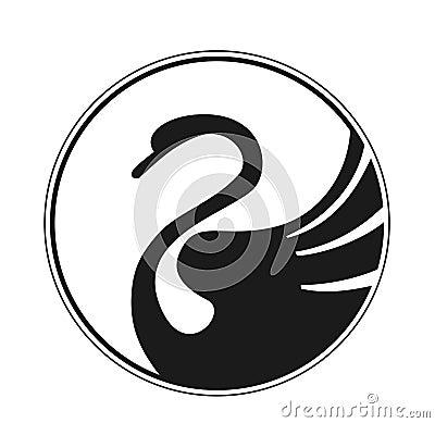 Free Design Swan Royalty Free Stock Photos - 4183228