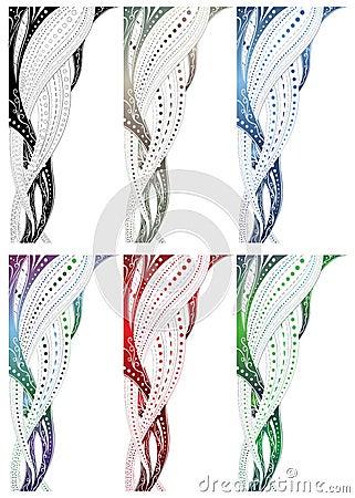 Design swirl border