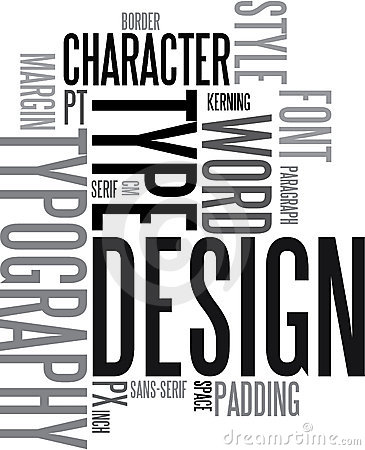 Design and typography back
