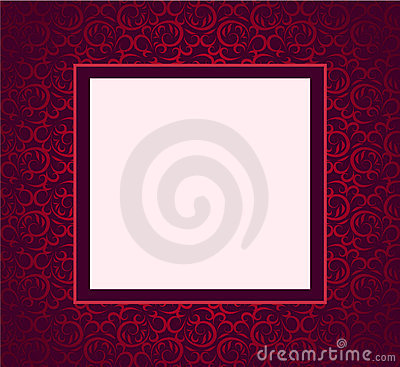 Design violet ornament cover