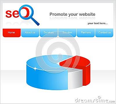 Design of website for seo