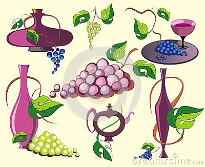 Design  wine elements